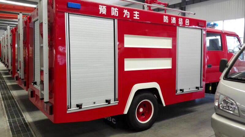 Automatic Aluminum Rolling Shutter Door for Fire Truck 1
