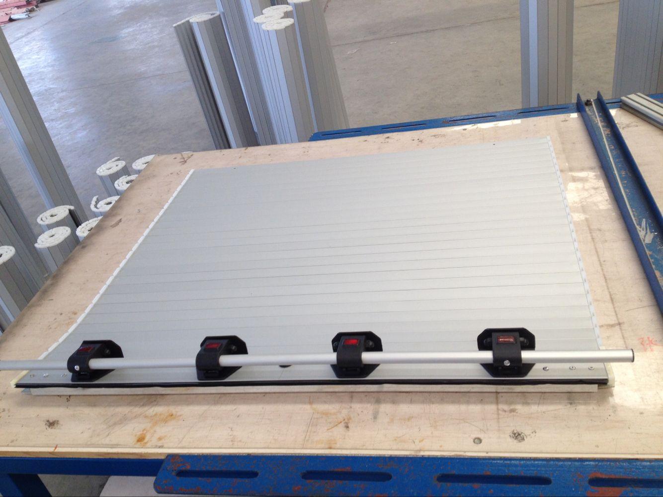 Aluminum Rolling up Doors for Fire Emergency Trucks 2