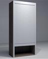 Kitchen Cabinet Roller Shutter Door Remote Control Automatic Roll up Garage Door