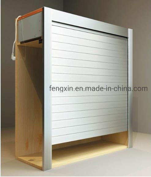 Kitchen Cabinet Roller Shutter Door Remote Control Automatic Roll up Garage Door 3