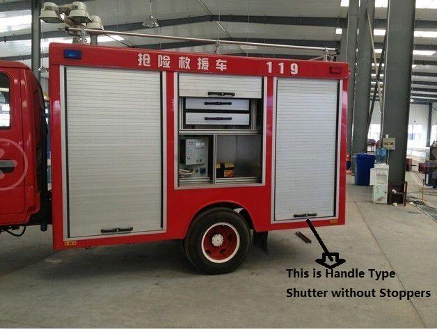 Fire Fighting Equipment Aluminium Alloy Roller Shutter Door 3