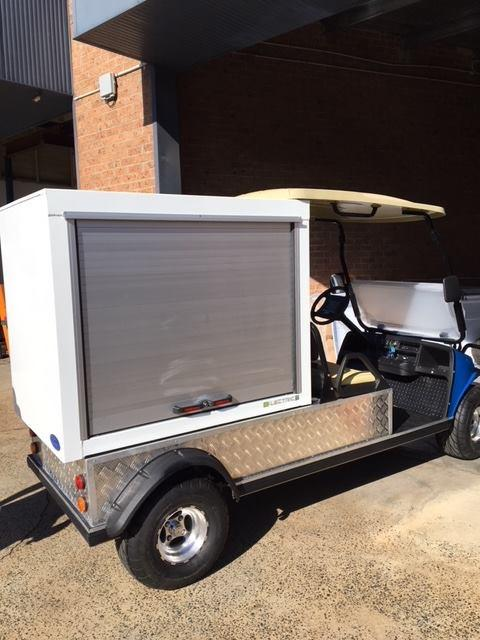 Emergency Truck Roll up Door Cargo Slide Door Blind 3