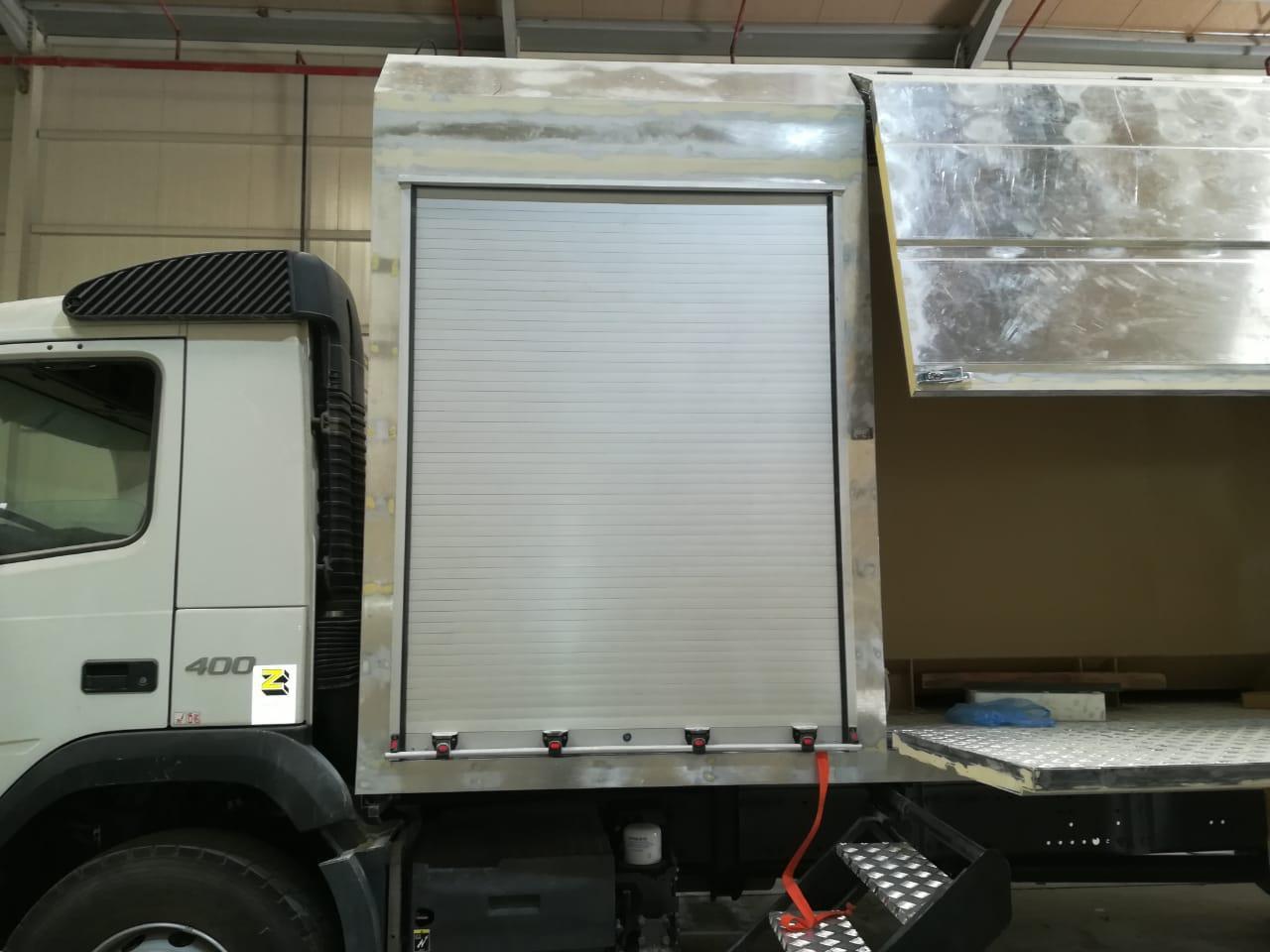 Rescue and Emergency Truck Rolling Shutter Door 5