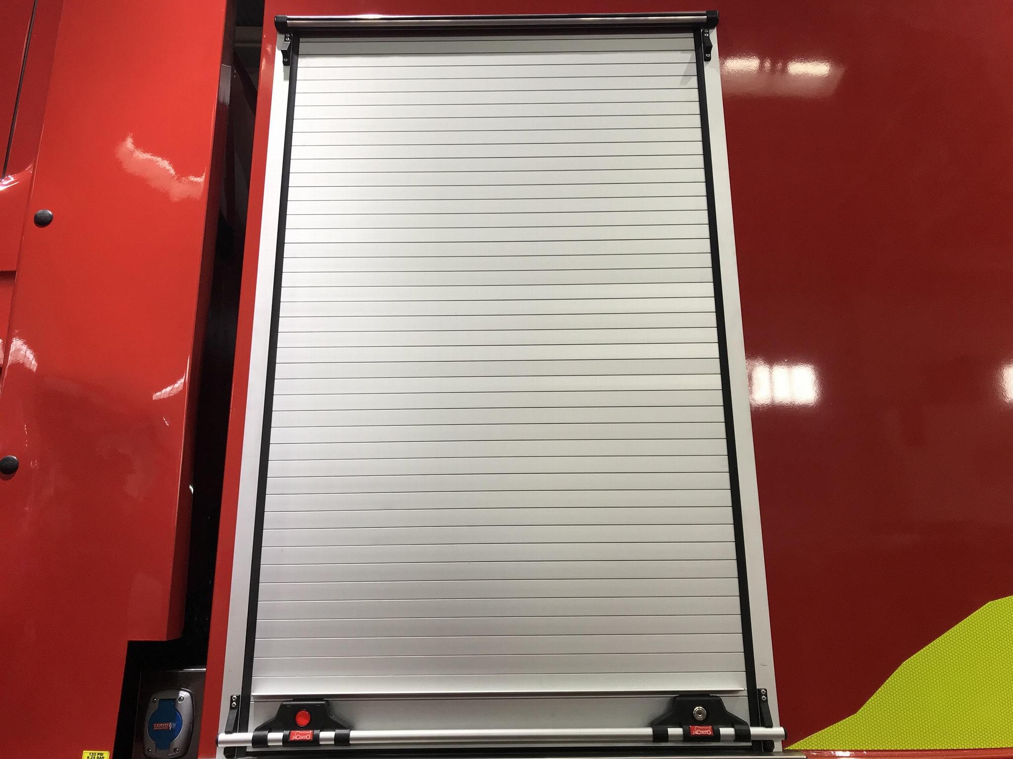 Emergency Truck Aluminium Alloy Roller Door 1