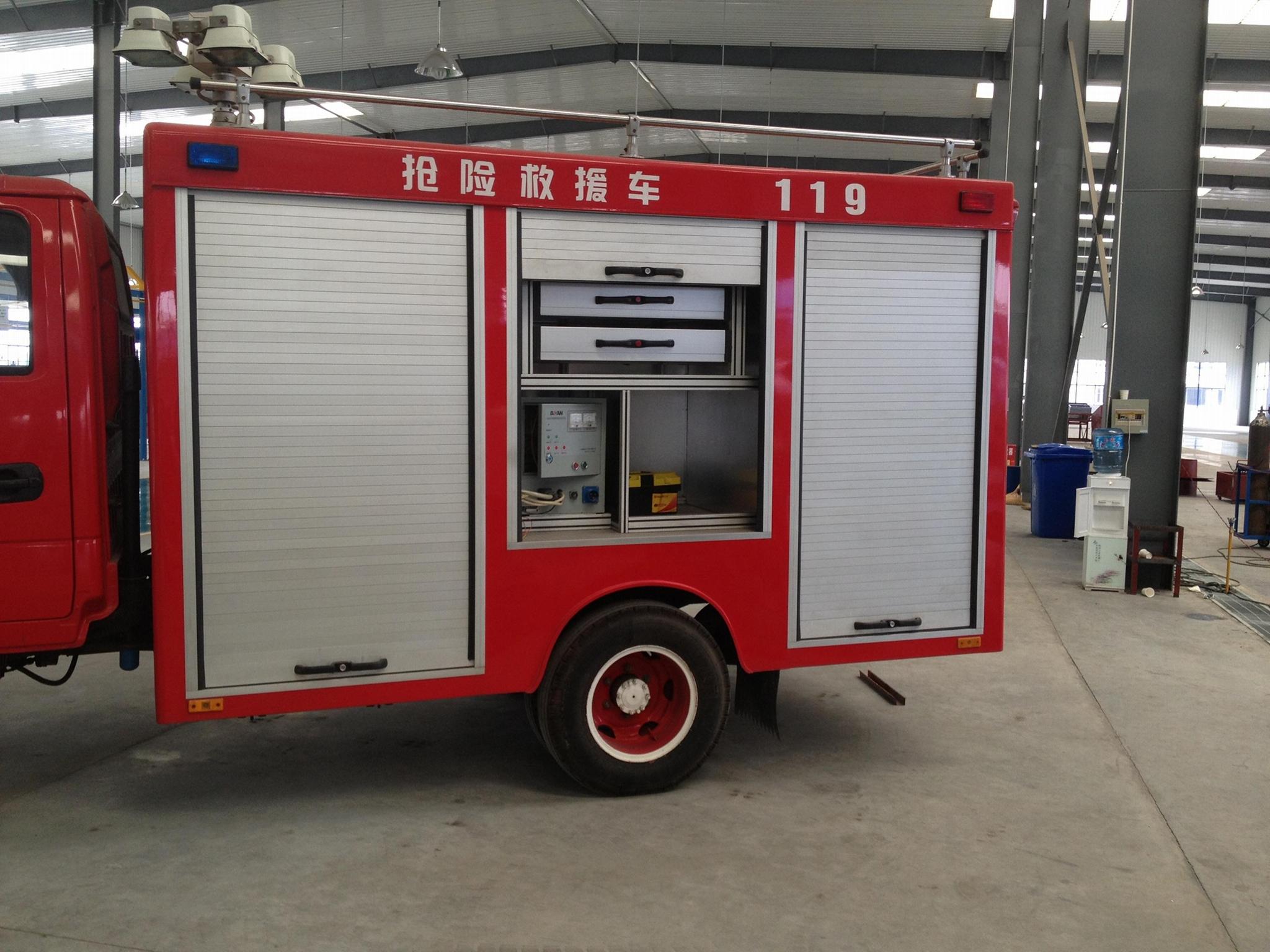 Small Fire Emergency Vehicle Rolling Shutter Door 2