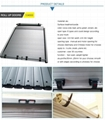 Aluminum automatic vehicle trailer roll up door in china  2