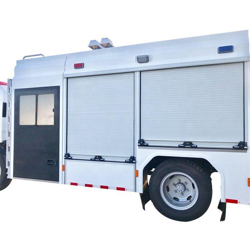 Fire Vehicles Roller Shutter 4