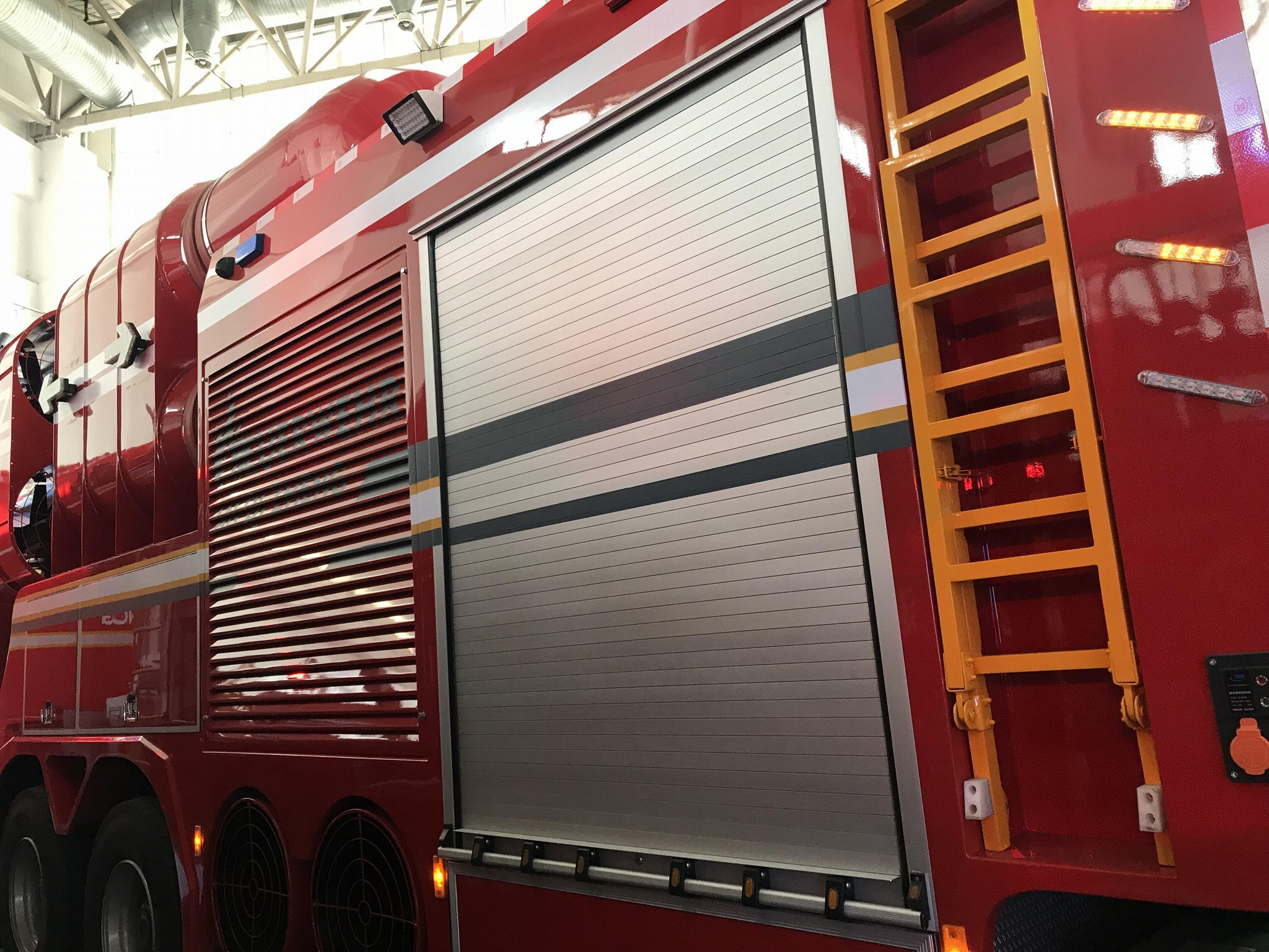 Rescue and Emergency Truck Roller Shutter 2