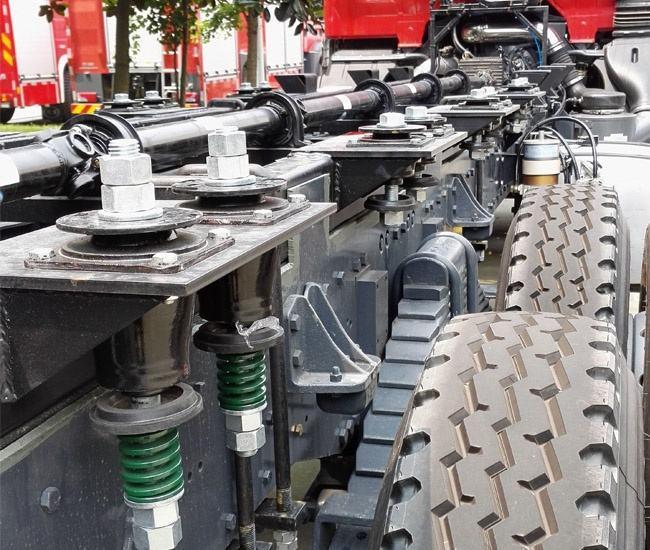 Fire Truck Elastic Support 4
