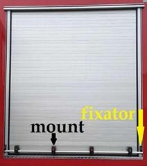 Trailer Roll Up Door Cargo Truck Sliding Door Shutter Blind