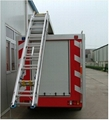 Fire Truck Aluminum Ladder Back Ladder 4