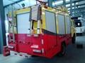 Fire Truck Aluminum Ladder Back Ladder