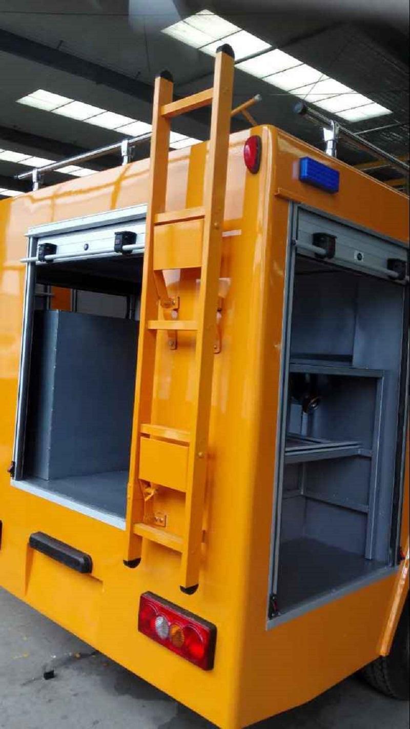 Fire Truck Aluminum Ladder Back Ladder 1