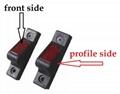 Adjustable steel ratchet buckle and belt