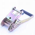 Adjustable steel ratchet buckle and belt for truck