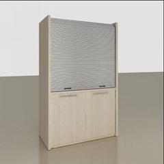 Kitchen Rolling Shutter Door PVC Door