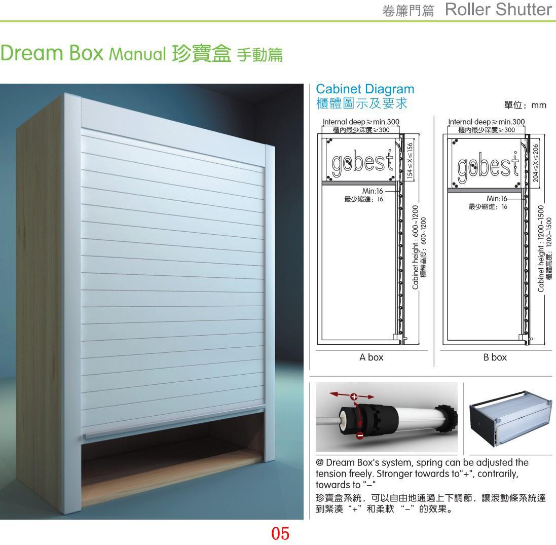 Kitchen Rolling Shutter Door PVC Door  3