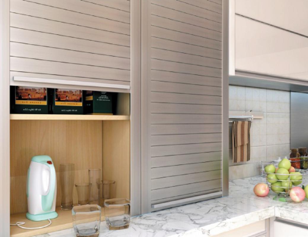 Cabinet Roller Shutter Door Kitchen Door 3