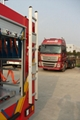 Fire Truck and Trailer Back Ladders