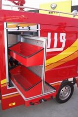 Fire Rescue Emergency Truck Vertical Tray