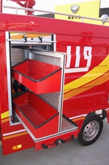 Fire Rescue Emergency Truck Vertical Tray Pallet