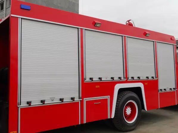 Vehicle Emergency-saving Waterproof Fire Truck Roller Shutter Door 4
