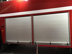 Fire Truck Roll up Door Aluminum Roller Shutter
