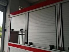 Trailer Roll up Door Roller Shutter For Fire Vehicle Truck