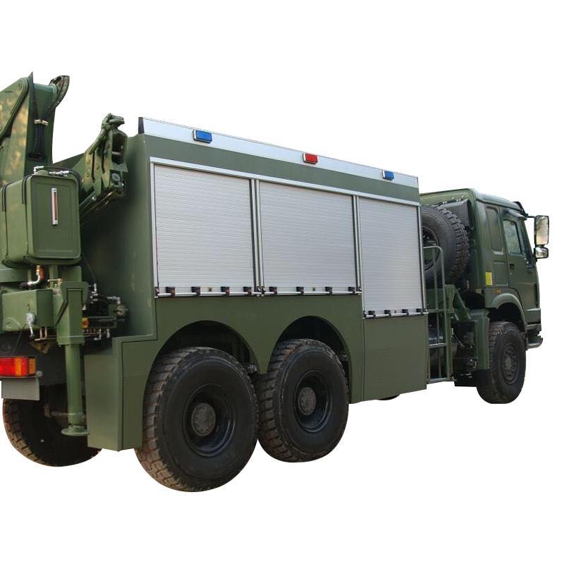 Fire Vehicles Roller up Shutter Door Cargo Truck Blind Door 2