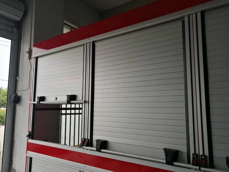 Emergency Truck Aluminium Alloy Roller Door 5