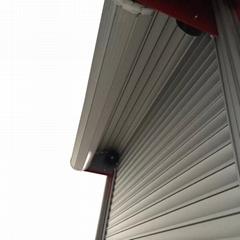 Emergency Truck Roll up Door Cargo Slide Door Blind