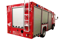 Aluminum Rolling up Doors for Fire Emergency Trucks