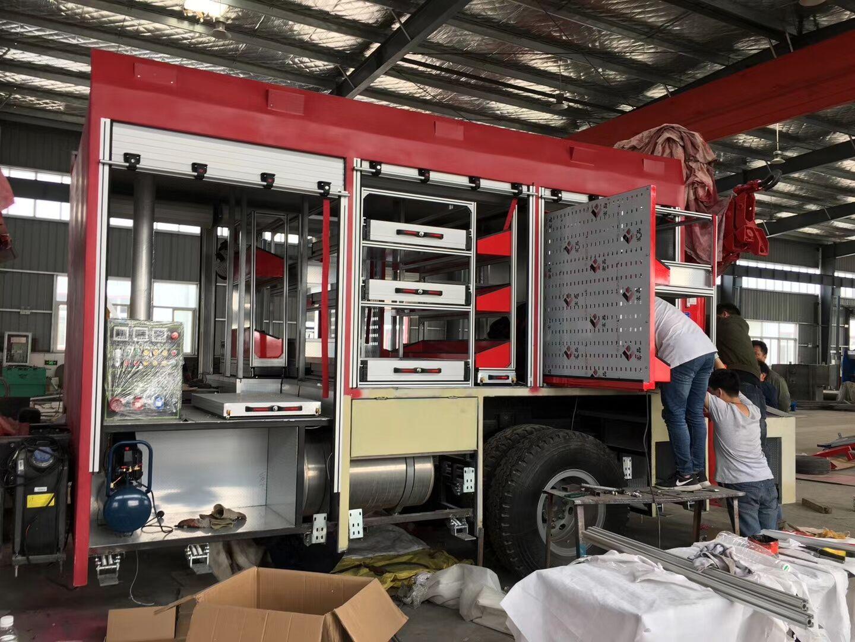 Cargo Truck Blind Roller Shutter /Roller Shutter Door /Shutters /Fire Truck Door 2