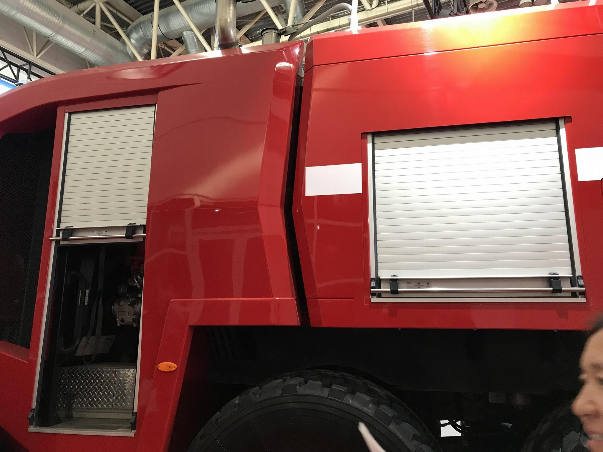 Security Proofing Aluminum Roller Door Blind for Fire Vehicle 7