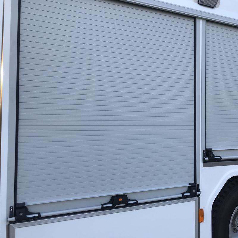 Security Proofing Aluminum Roller Door Blind for Fire Vehicle 1