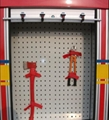 Fire Hose Rack Bracket For Fire Truck Equipment