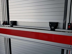 Truck and Trailer Rolling up Door Slide Blind Door