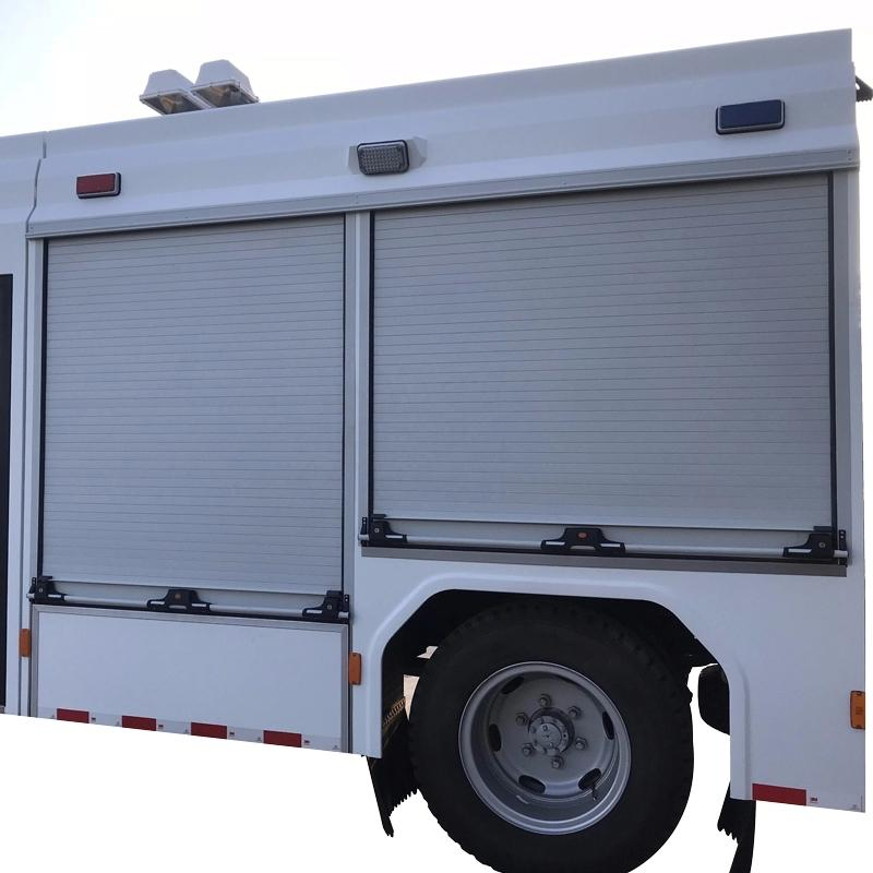 Truck Roll up Door Rear Slide Window Roller Shutter Aluminium Door   2