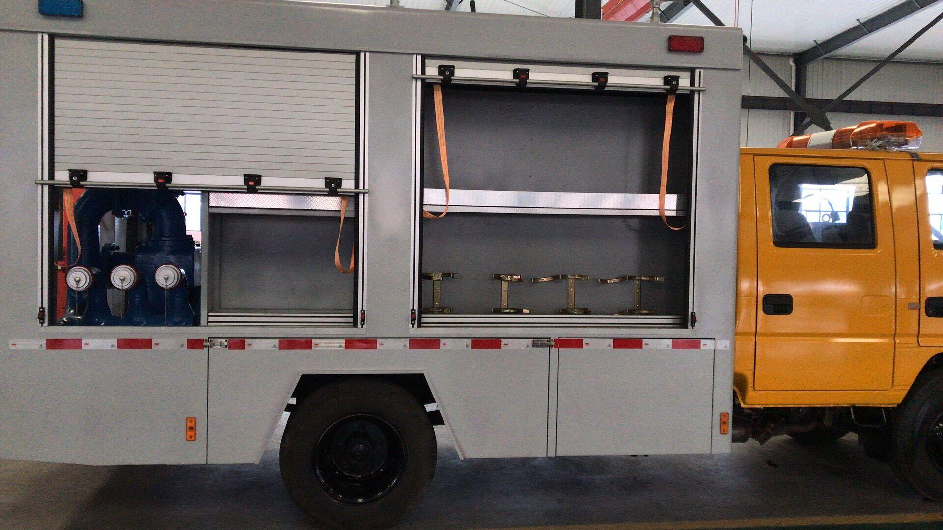 Special Vehicles Rescue Truck Aluminum Roll up Doors Window Shutter 6