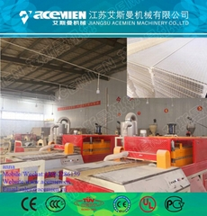 China Best supplier PVC wall decorative panel machine production line with CE ce