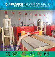 automatic pvc ceiling panel making machine
