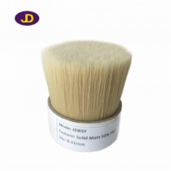 The manufacturer produces 60% of the top natural white boiled bristles mixed wit