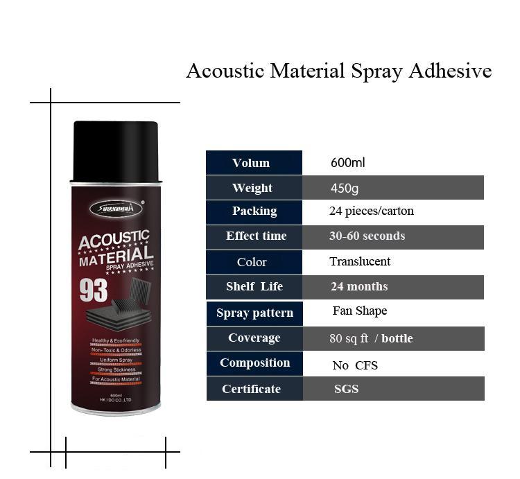 Sprayidea® 93 Acoustic Material Spray Adhesive 3