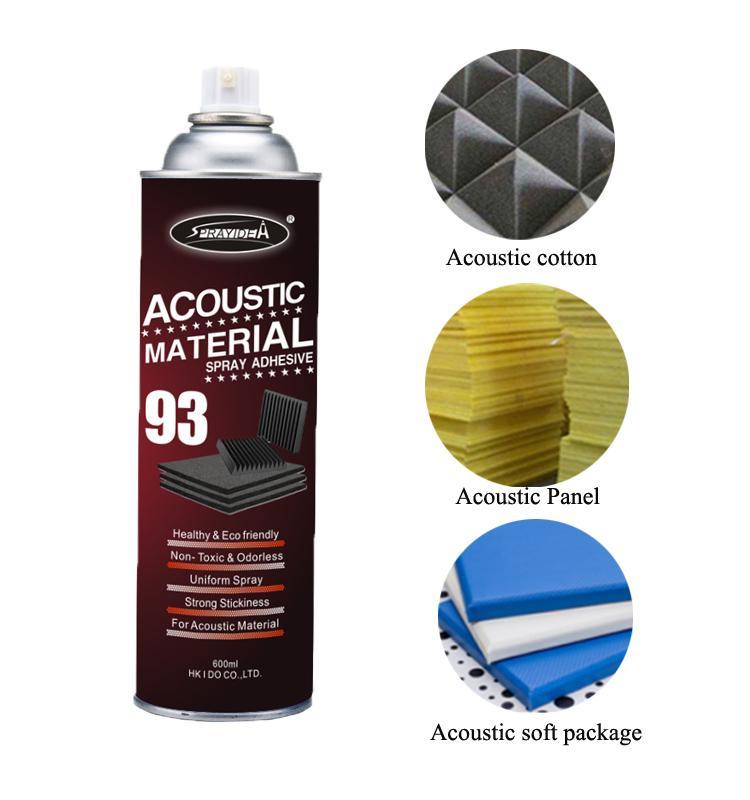 Sprayidea® 93 Acoustic Material Spray Adhesive 4