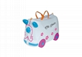 lovely portable cartoon children luggage