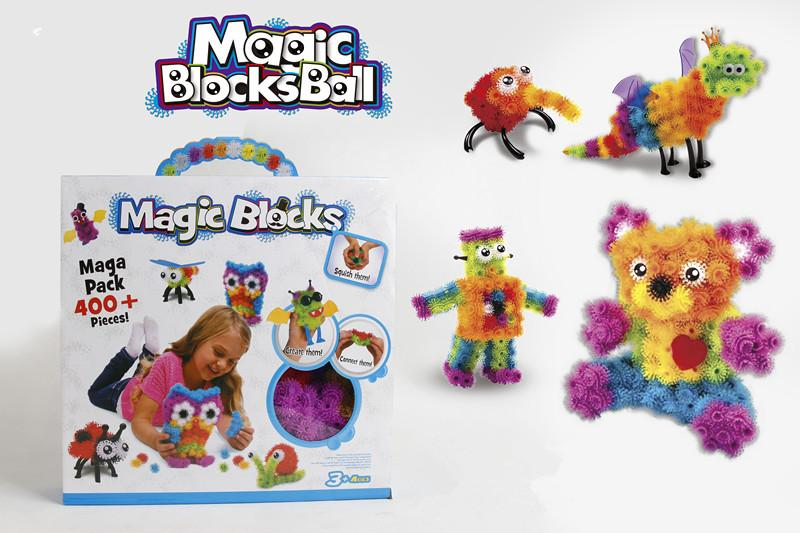 400 Pieces building block toys-magic ball 1