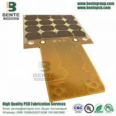 Flexible Pcb Products Jinlv Board Diytrade China Printed Circuit Fpcb Fpc 2layers Enig Material Dupont Pi