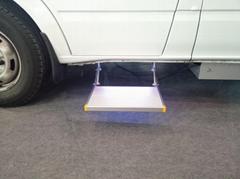 信德泰克房車用電動折疊踏步上車腳踏板/承載200KG/CE認証