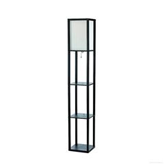Simple Designs LF1014-BLK Floor Lamp
