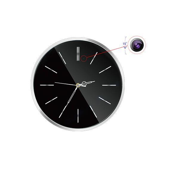 2.0 mega fhd 1080p wifi wall clock hidden camera 1